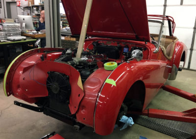 Sport and Specialty Triumph TR3