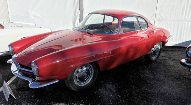 1961- Alfa Romeo Giulietta Sprint Speciale Coachwork by Bertone
