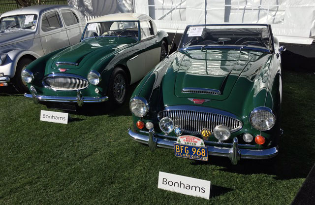 1968 BJ8 and 1961 BN7 Two Seater Austin Healeys