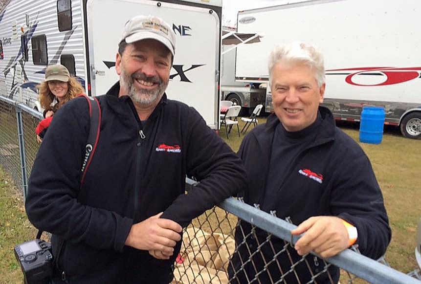 Bill Oakes and Mark Atkinson