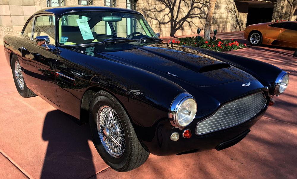 Arizona Auto Auction Week 2016 - 1962 Aston Martin DB4 Superleggera