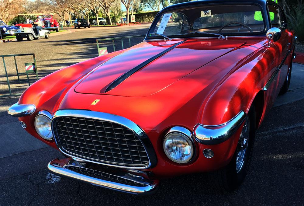 Arizona Auto Auction Week 2016 - 1953 Ferrari 212 Incer-Coupe