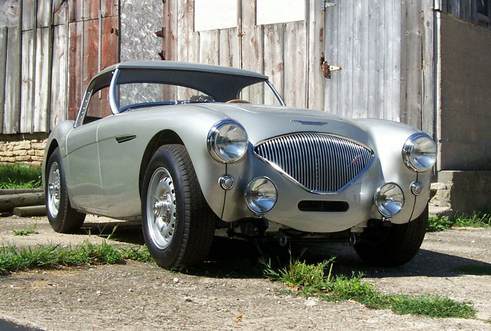 1955 Austin-Healey 100R