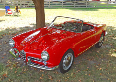 1957 Alfa Romeo 750F Giulietta Spider Veloce