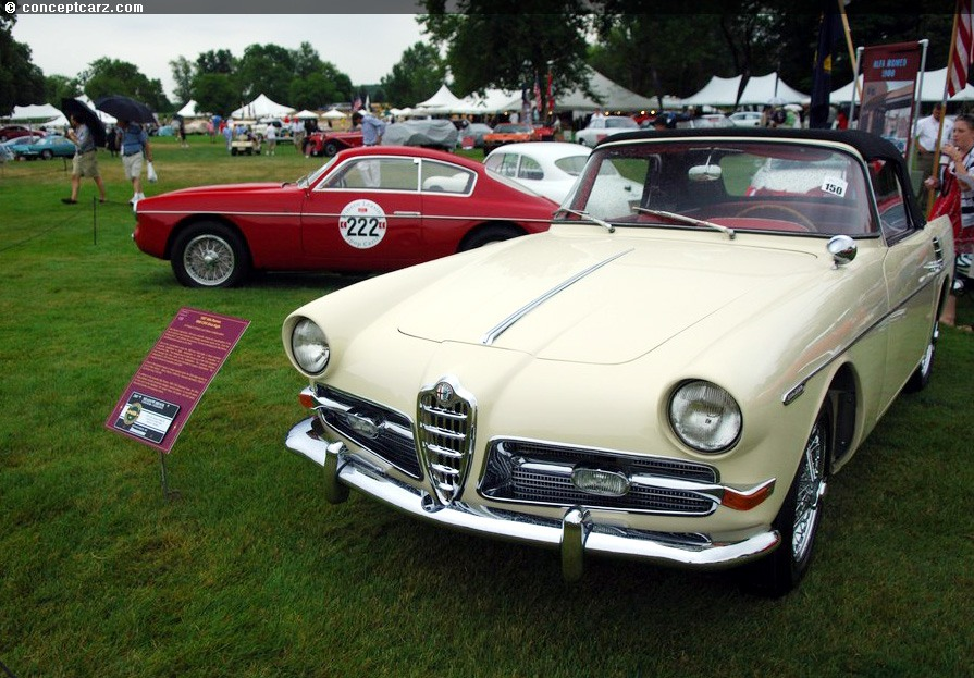 Sport and Specialty - 1957 Alfa Romeo 1900 CSS Ghia-Aigle Cabriolet