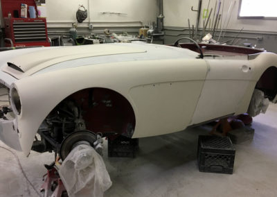 Sport and Specialty - 1966 austin healey 3000-