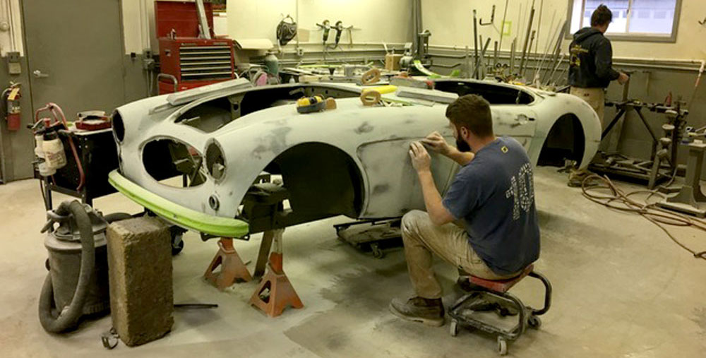 Carry Your Weight: How We Keep a Healey Balanced During Restoration