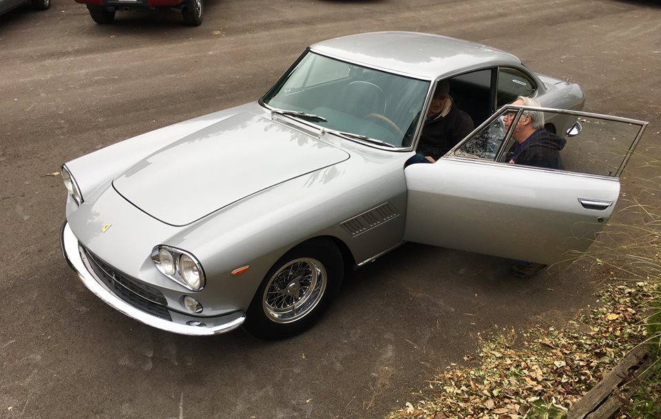 The Ferrari 330GT 2+2 home today! One of our finest total builds.