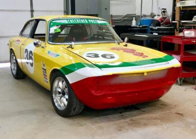 Sport and Specialty Alfa Romeo GTV Race Car