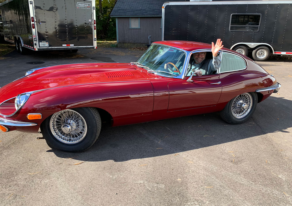 Sport and Specialty - 1961 Jaguar Series 1 E-Type XKE