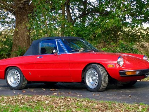 1971 Alfa Romeo Kamm Tail Spider