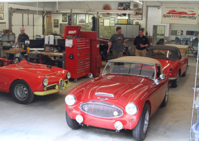 Sport and Specialty -Jaguar  Austin Healey and Alfa Romeo