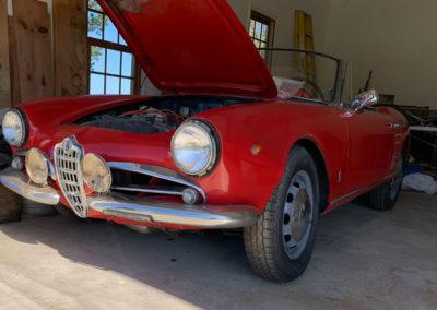 Sport and Specialty - 1965 Alfa Romeo Giulia Spider Veloce