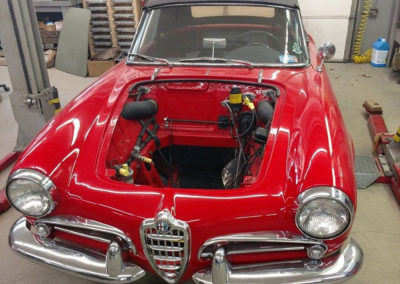 Sport and Specialty 1960 Alfa Romeo Giulietta Spider