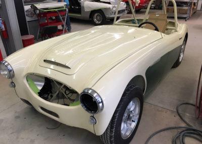 1960 Austin Healey 3000 Race Car