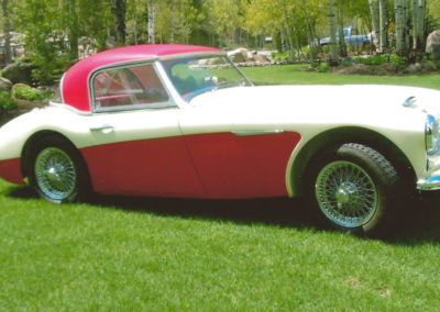 Sport and Specialty 1962 Austin Healey 3000 Tri-Carb